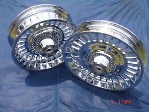 Harley Davidson Chrome 28 Spoke Wheels 09-13 Ultra Road Glide Exchange Only FLHT