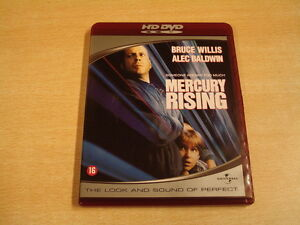 HD DVD / MERCURY RISING ( BRUCE WILLIS, ALEC BALDWIN...)