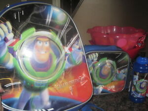 BUZZ LIGHTYEAR ITEMS - BACKPACK, WATERBOTTLE AND LUNCHBAG ++++ Kitchener / Waterloo Kitchener Area image 2