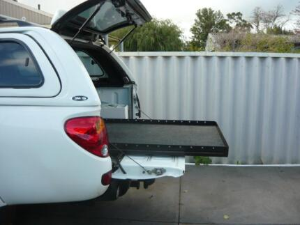 DUALCAB CARGO  SLIDE TRITON,HILUX, COLORADO, RANGER, MAZDA, RODEO Pinjarra Murray Area Preview