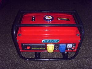 PETROL GENERATOR  2.5KW new 110v 240 volt 2 year warranty