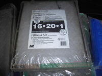 Furnace Filters, (new)...assorted  sizes