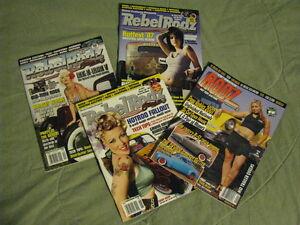REBEL RODZ Car Magazines.