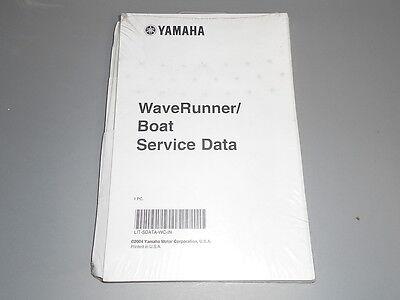 Yamaha Waverunner Boat Service Data Manual