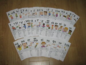 CD of Jolly Phonics Action Prompt Cards  EYFS & KS1 CHEAPEST ON EBAY