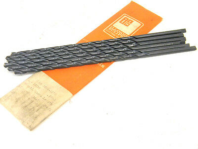 6 New Surplus Itw Illinois Tool Works 6 00Mm Hss Extra Long Metric Twist Drills