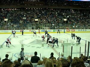 2 CENTER ICE Tickets 3/5 EDMONTON OILERS vs BLUE JACKETS