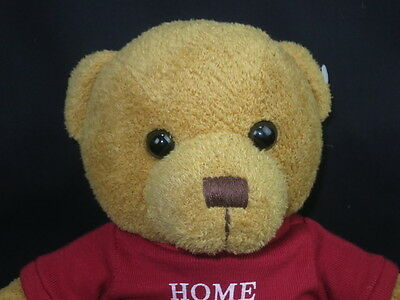 Habitat For Humanity Home Sweet Home Cinnamon Brown Teddy Bear Plush Stuffed
