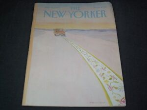 1983-MARCH-28-NEW-YORKER-MAGAZINE-BEAUTIFUL-FRONT-COVER-FOR-FRAMING-C-513