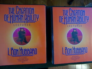 Creation of Human Ability 8th ACC lectures by L. Ron Hubbard Edmonton Edmonton Area image 2