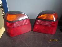 VW GOLF LIGHTS / PHARES VW GOLF