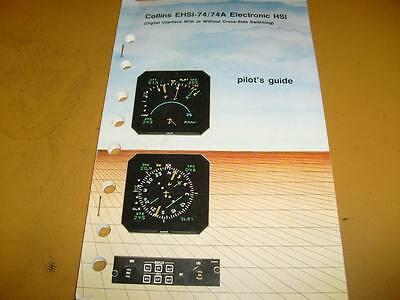 Collins EHSI 74  & 74A HSI   Pilot's Guide