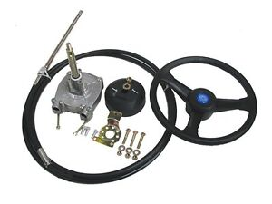 NEW-200-HP-Rotary-19-ft-Cable-Outboard-Boat-Steering-System-Rib-Sports-Marine