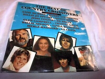 V A Best Of Country Crossovers Volume Two Excelsior Xlp 88001 New Sealed Lp