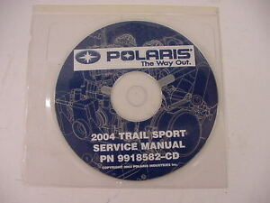 POLARIS-SERVICE-MANUAL-CD-2004-TRAIL-SPORT-9918592