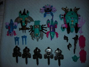 G1 TRANSFORMERS SEACONS  COMBINERS SET