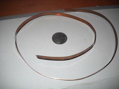 Copper Boiler Banding For Lionel Trains Prewar 385 392 & 400 Engines - 16 Long