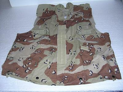 Vintage (new)1990's Military Desert Vest Cover Pasgt Small/med Nip Price Too