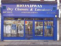 Laundry operator / shop assistant required 40 hrs per week. Full training given.IMMEDIATE START.