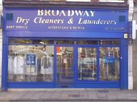 Laundry operator / shop assistant RQD 42 hrs per week. Full training given.IMMEDIATE START.