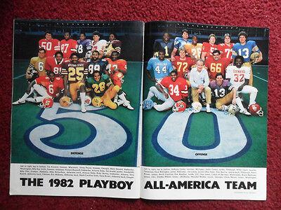 1982 Magazine Photo Page ~ Dan Marino PITTSBURGH Football All American Team