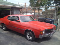 1972 Chevrolet Malibu Coupe, CLASSIC CAR!!!