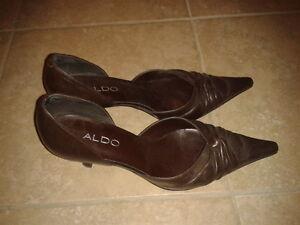 Aldo brown heels 7