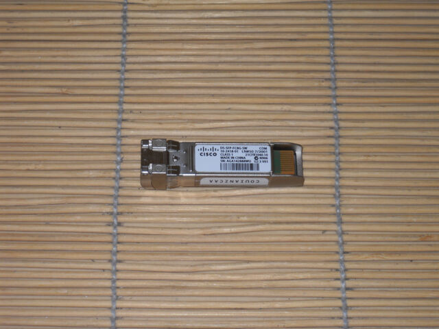 ORIGINAL Cisco DS-SFP-FC8G-SW 8-Gbps Fibre Channel Short Wave SFP+