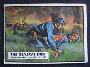 General Robert E. Lee: Topps' Civil War History Collector's Card
