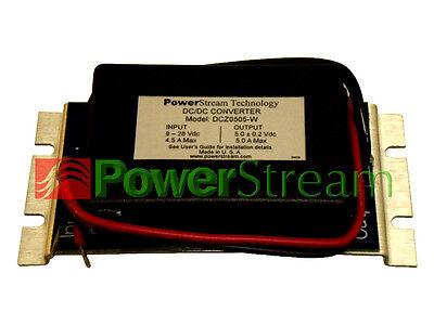 PowerStream DCZ0505-W weather resistant 5V 5A DC/DC Converter