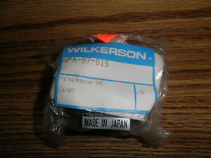 Wilkerson-Model-GPA-97-019-In-NPT-End-Block-Piping-Adapter-Set-W