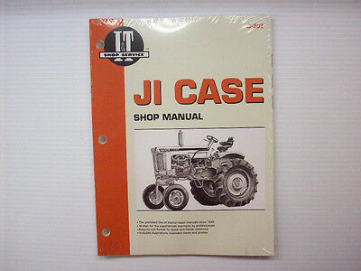 It Manual Ji Case Multiple Models Of Tractors C-202