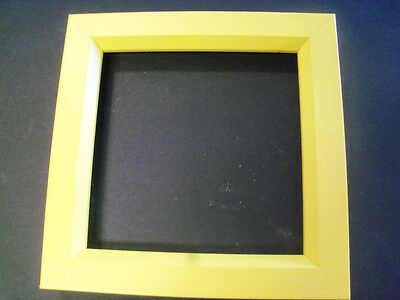Rainbow Yellow Wood Picture Poster Frame-square