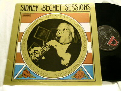 SIDNEY BECHET Sessions Mezz Mezzrow Babe Dodds Joe Sullivan LP James P Johnson