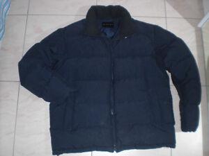 Giubbotto-imbottito-invernale-da-neve-originale-Sisley-taglia-L-colore-blu-scuro