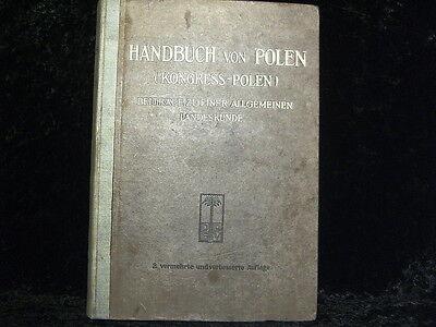 Handbuch von Polen ( Kongress- Polen ) 2. Aufl.    1918
