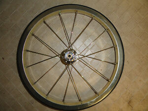 Wheel-13-Rubber-Metal-16-Spokes-Cart-Wheel