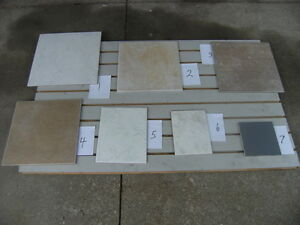 VARIETY OF CERAMIC TILES AND SIZES