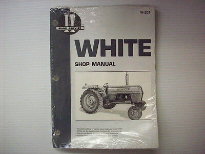 It Manual White Tractors W-201