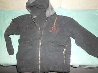 Jacke dunkelblau mit Fleecefutter für Übergang Gr. 122/128 Leipzig - Alt-West Vorschau
