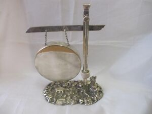 ANTIQUE-SILVER-PLATED-GONG-THIS-WAY-REGD-DESIGN-F-WILSON-CO-LONDON-1884