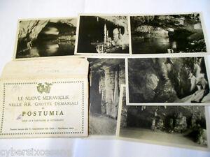 POSTUMIA-serie-completa-6-cartoline-in-busta-originale-fine-anni-039-30