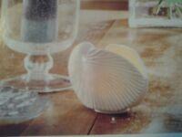 PARTYLITE Coastal Lights Nautilus Shell