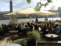 Waitresses required for Full and Part time work in City Restaurant on the river at St Paul's.