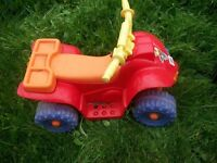 power wheels, by fisher price