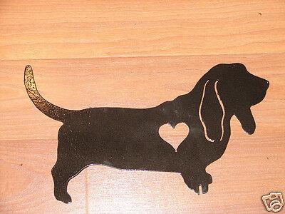 Basset Hound Dog Pet Memorial Garden Stake Hunting K9