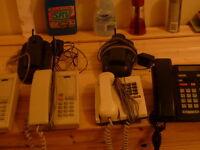 3 NORTHERN TELECOM TELEPHONES
