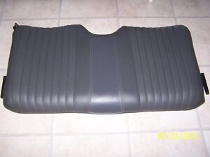 Grey Leather Trans Am Seats