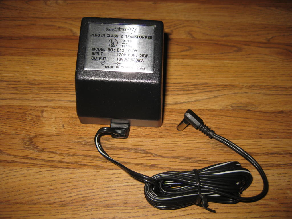Plug In Style Class 2 18 Volt Dc Transformer 533ma