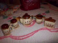 Teapot, and Set